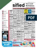 GUA Classified Adverts 210115