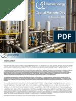 Genel Energy Plc - Capital Markets Day Presentation