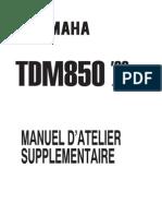 TDM850 1999 4TX-AF3supplementManuel