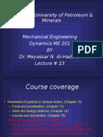 LEC 23 (Planar Kinematics 051)