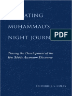 Narrating Muhammad's Night Journey. By Frederick S. Colby