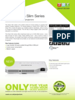 casio green slim factsheet