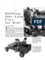 Building One Lung Karts