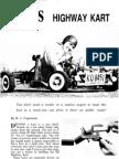 Highway Kart by Mechanix Illustrated