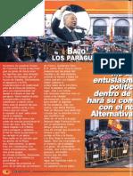 José María Permuy en Plaza Oriente 20-N 2003. Fuerza Nueva nº 1288)
