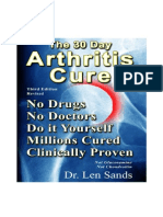 The 30 Day Arthritis Cure v3.3 eBook Cp
