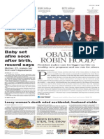 Asbury Park Press front page Wednesday, Jan. 21 2015