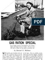 Gas Ration Scooter