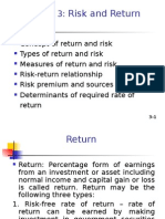 Return & Risk