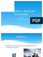 Presentacion Autogestión y desarrollo empresarial UNED