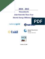 Massachusetts Electric Plan Final Oct-09