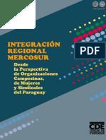 INTEGRACION REGIONAL MERCOSUR - DANIA PILTZ - PORTALGUARANI