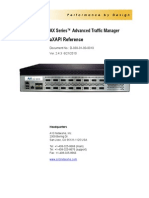 AX Series™ Advanced Traffic Manager aXAPI Reference