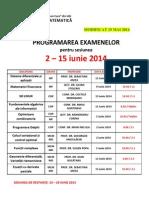 Examene Iunie 2014 Master