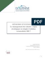 MEMOIRE MBA RH08 Benoist-Daviaud-Rainsard Demazeau-Torres