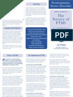The Nature of PTSD