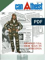 American Atheist Magazine Feb 1980