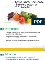 Sistema para Recuento de Enterobacterias 3MT™ Petrifilm