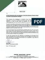 PF Trust Document