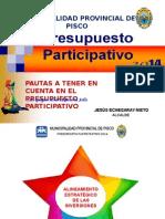 ALINEAMIENTO ESTRATÉGICO DE LOS PROYECTOS - PISCO.ppt