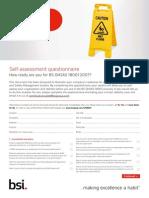 BSI BSOHSAS18001 Assessment Checklist UK En