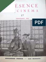 Présence du Cinéma, n.17