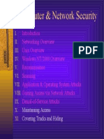 Chapter 0 Computer Network Security Table of Contents.ppt