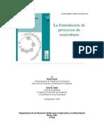 La Formulacion de Proyectos de Acuicultura(1)