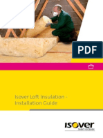 Isover Loft Top Insulation Installation Guide