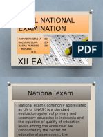 Final National Examination