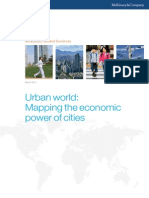 MGI Urban World Mapping Economic Power of Cities Full Report