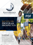 Kentsbridge Bachelors Degree Program Brochure