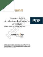 Directriz Sobre  Accidentes e Incidentes en el Trabajo 18042012.pdf