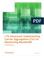 Aricent Carrier Aggregation Whitepaper