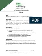 Physical Infrastructure Management Basics Transcript