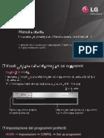 Manuale Tv LG