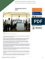 DETONAN OBRAS DE INFRAESTRUCTURA EL DESARROLLO DE REYNOSA