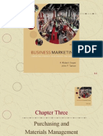 Chapter Three Purchasing and Materials Management