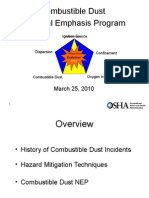 Combustible Dust NEP Presentation_SPI_March25_2010 Rev