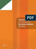Protocolo Raiva Humana 2011