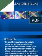 anomalias genetica
