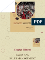 Chapter Thirteen Sales and Sales Management