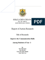 Report Of ACtion Research for BI 2009.doc