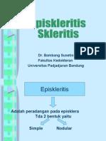 Kuliah Mhsw Dr BM Episkleritis & Skleritis