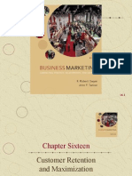 Chapter Sixteen Customer Retention and Maximization