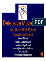 Lee-Davis HS -Defensive Movements