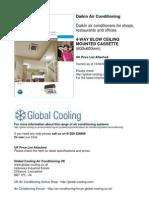Daikin Air Conditioning Brochure & UK Prices