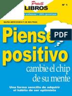 Piense Positivo Cambie El Chip - Maria Mercedez Perez de Beltran