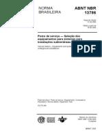 Cópia de NBR 13786 Posto Servico Selecao Equipamentos Sistemas Instalacoes Subterraneas Combustiveis