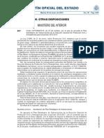 Plan Estratégico de Subvenciones de la Dirección General de Protección Civil y Emergencias para el periodo 2015-2017